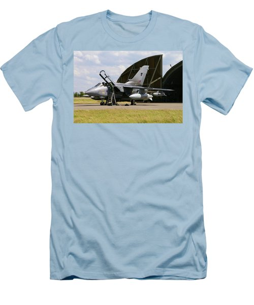 Panavia Tornado Gr4 Men's T-Shirt (Slim Fit) by Tim Beach