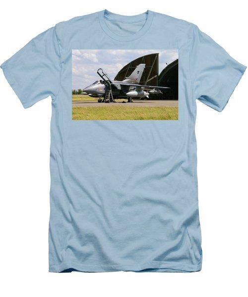 Men's T-Shirt (Slim Fit) featuring the photograph Panavia Tornado Gr4 by Tim Beach