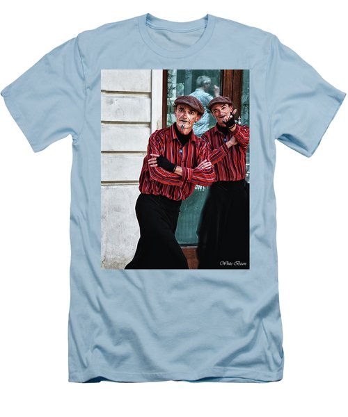 Pantomine Men's T-Shirt (Slim Fit) by Patrick Boening