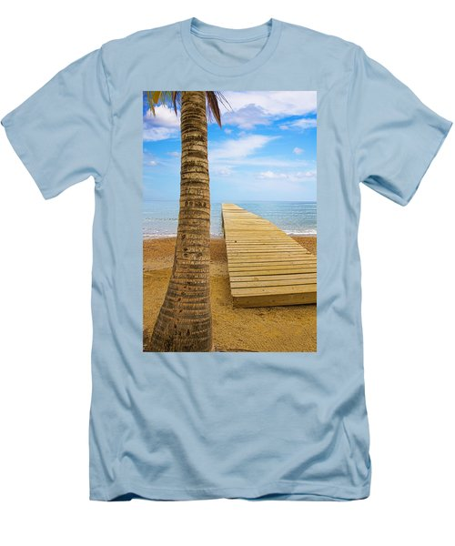 Paradise Men's T-Shirt (Slim Fit) by Marlo Horne