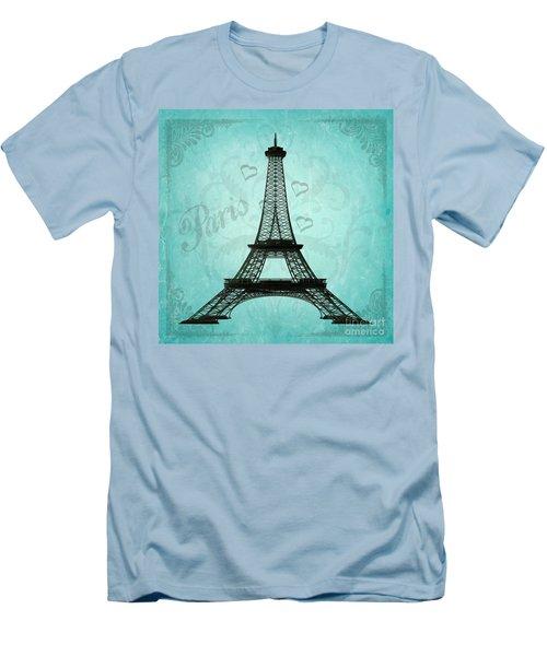 Paris Collage Men's T-Shirt (Athletic Fit)