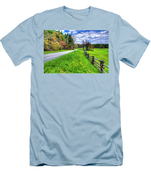 Parkway Spring Men's T-Shirt (Slim Fit) by Dale R Carlson
