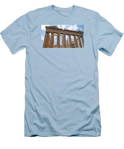 Parthenon Men's T-Shirt (Slim Fit) by Robert Moss