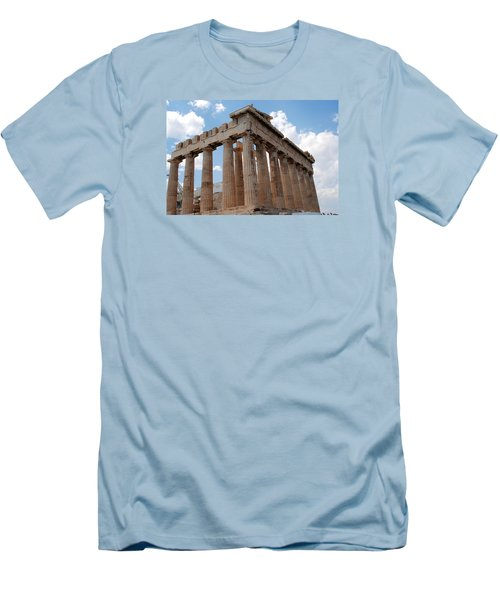 Parthenon Side View Men's T-Shirt (Slim Fit) by Robert Moss