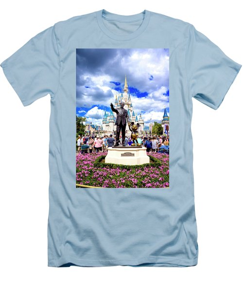 Men's T-Shirt (Slim Fit) featuring the photograph Partners Two by Greg Fortier