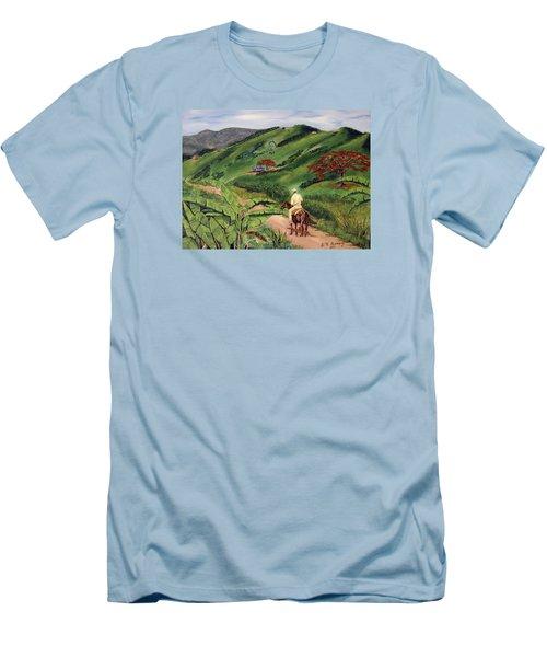 Paseo Por El Campo Men's T-Shirt (Athletic Fit)