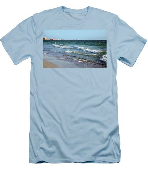 Passagrill Beach Men's T-Shirt (Athletic Fit)