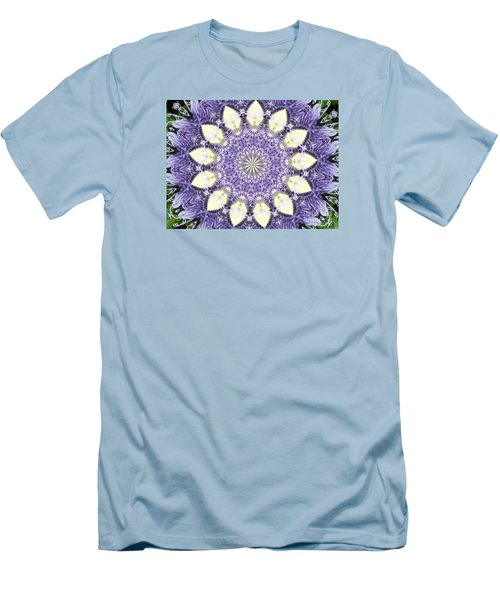 Passion Flower Kaliedoscope Men's T-Shirt (Athletic Fit)