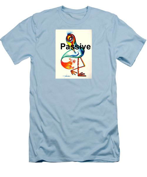 Passive Taino Bird Men's T-Shirt (Athletic Fit)
