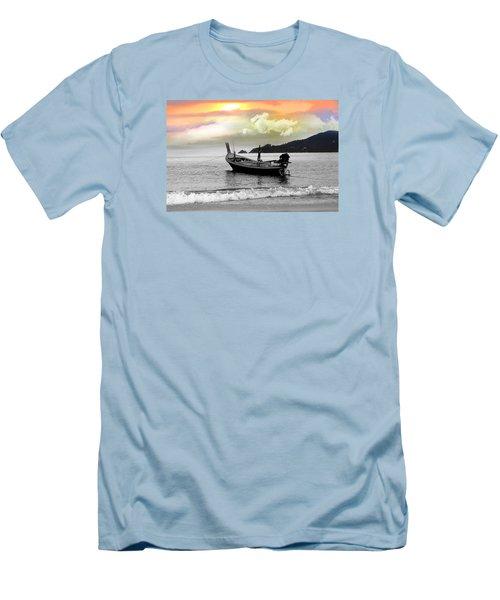 Patong Beach Men's T-Shirt (Athletic Fit)