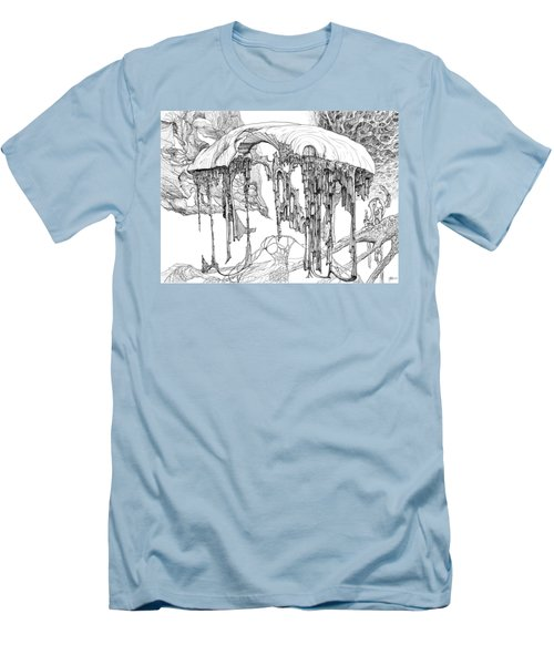 Pavilion Men's T-Shirt (Slim Fit) by Charles Cater