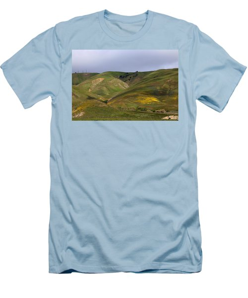Men's T-Shirt (Slim Fit) featuring the photograph Peace Valley by Viktor Savchenko