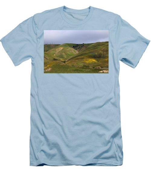Peace Valley Men's T-Shirt (Slim Fit) by Viktor Savchenko