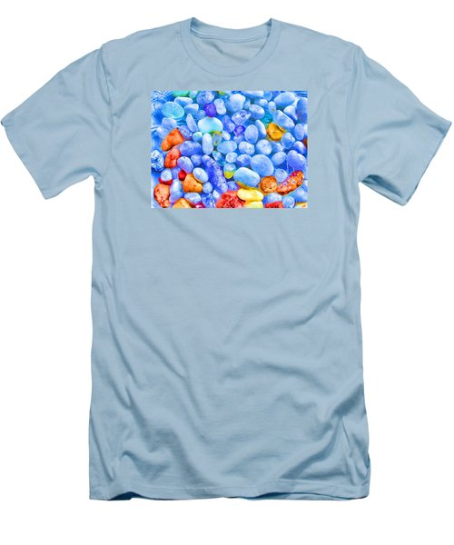 Men's T-Shirt (Slim Fit) featuring the photograph Pebble Delight by Andreas Thust