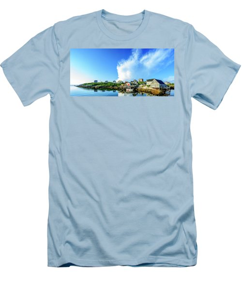 Peggys Cove Men's T-Shirt (Slim Fit) by Ken Morris