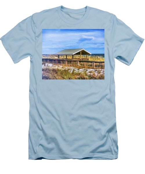 Perdido  Men's T-Shirt (Slim Fit) by Carlos Avila