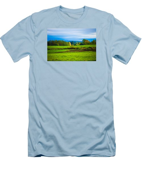 Perfect Place For A Meadow Men's T-Shirt (Athletic Fit)