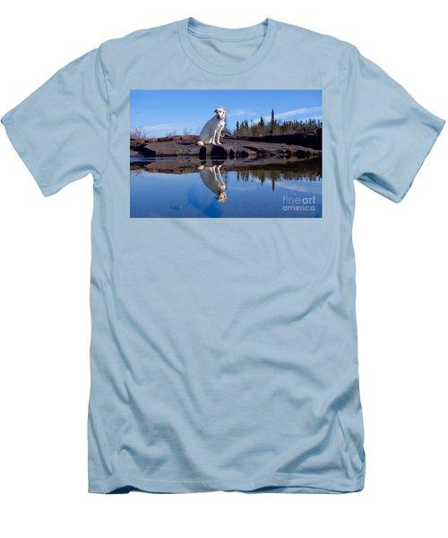 Perfect Reflections Men's T-Shirt (Slim Fit) by Sandra Updyke