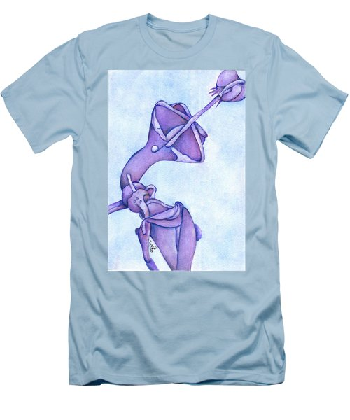 Distincta In Perpetuity Men's T-Shirt (Slim Fit) by Versel Reid