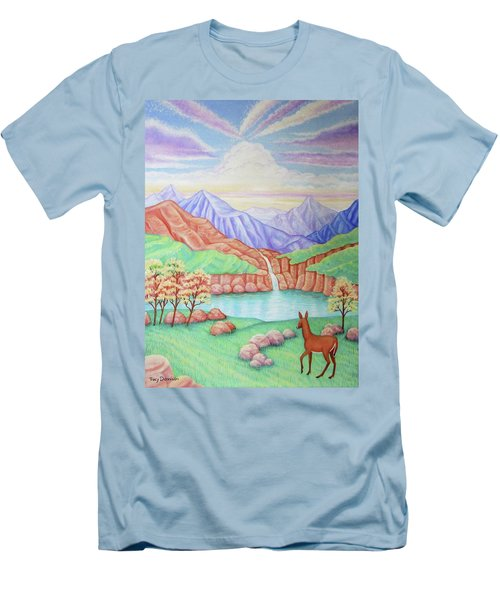 Phantom Valley Men's T-Shirt (Slim Fit) by Tracy Dennison