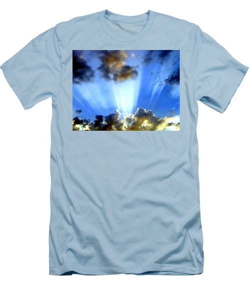 Men's T-Shirt (Athletic Fit) featuring the digital art Photo Drama by Will Borden