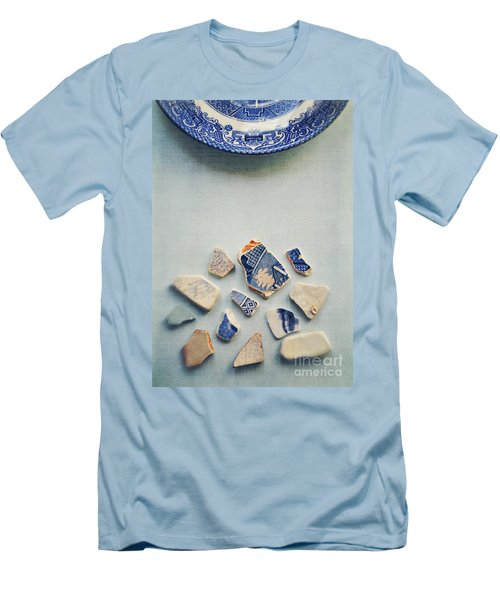 Picking Up The Broken Pieces Men's T-Shirt (Athletic Fit)