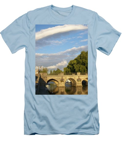 Men's T-Shirt (Slim Fit) featuring the photograph Picturesque by Mary Mikawoz