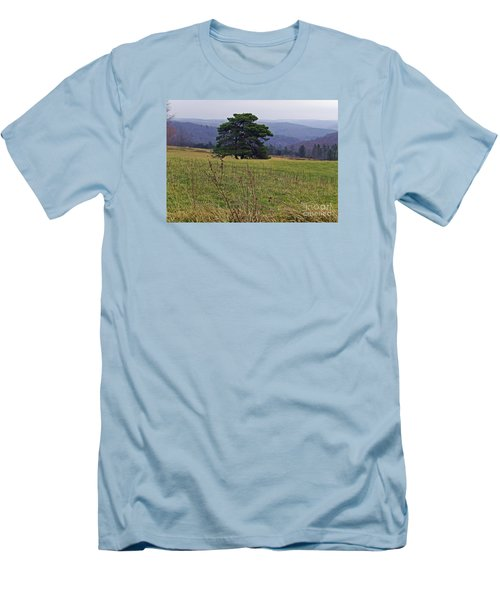 Men's T-Shirt (Slim Fit) featuring the photograph Pine On Sentry by Christian Mattison