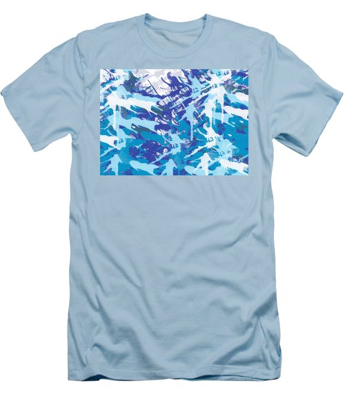 Pine Trees Men's T-Shirt (Slim Fit) by Trilby Cole