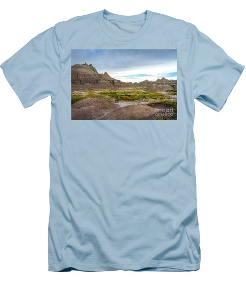Pinnacles Of The Badlands Men's T-Shirt (Athletic Fit)