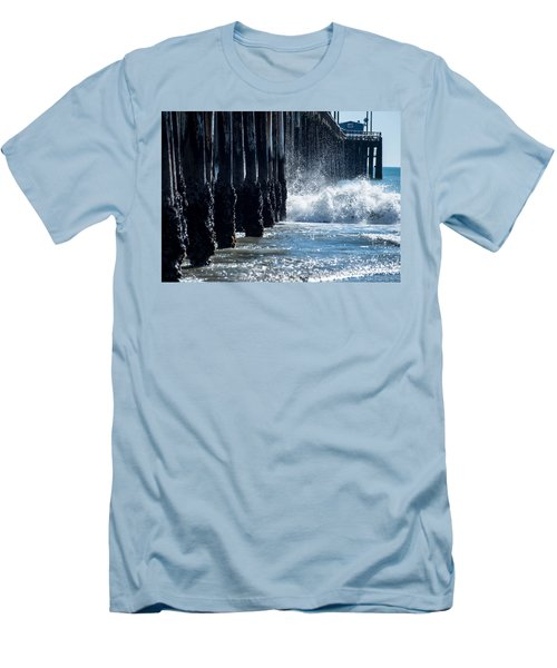 Pismo Pier Men's T-Shirt (Athletic Fit)
