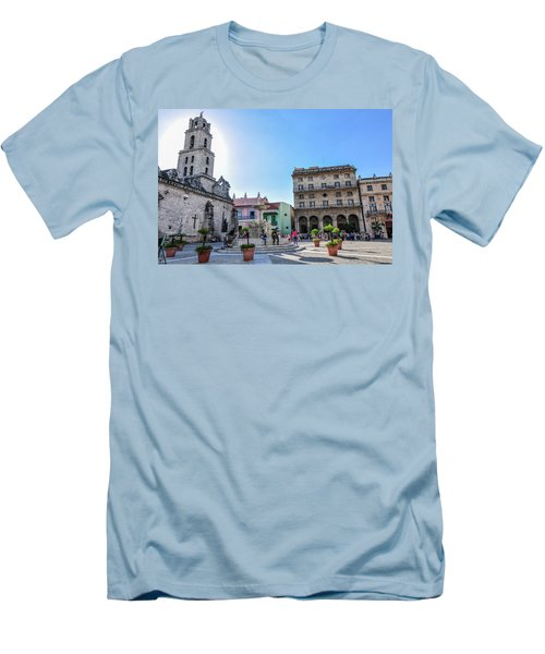 Plaza De San Francisco De Asis Men's T-Shirt (Athletic Fit)