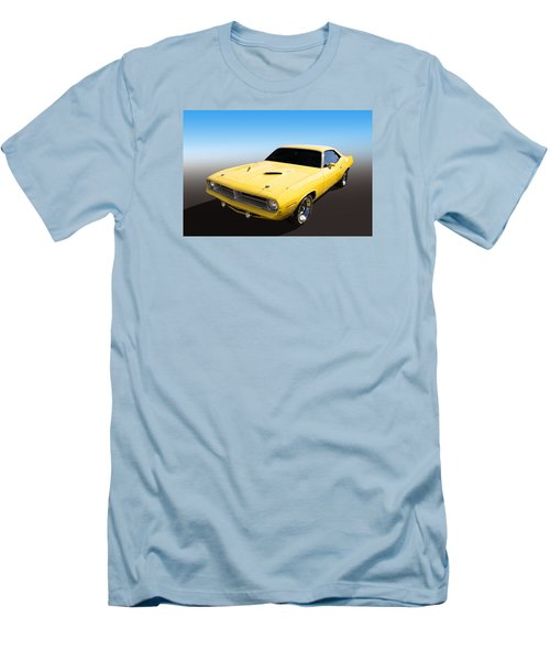Men's T-Shirt (Slim Fit) featuring the photograph Plymouth Muscle by Keith Hawley