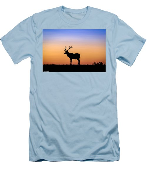 Point Reyes Elk Men's T-Shirt (Athletic Fit)