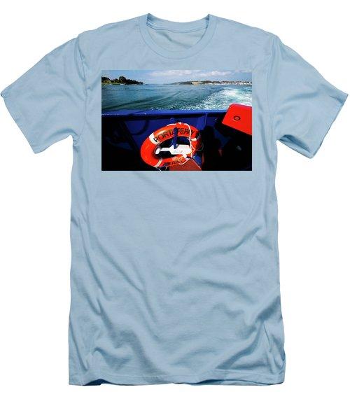 Portaferry Ferry Men's T-Shirt (Athletic Fit)