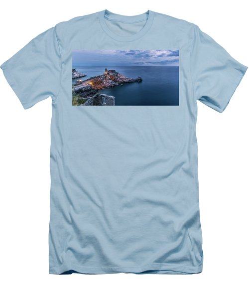 Portovenere Men's T-Shirt (Athletic Fit)