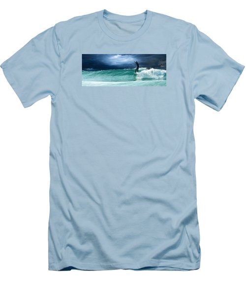 Poseiden's Prayer Men's T-Shirt (Slim Fit) by William Love