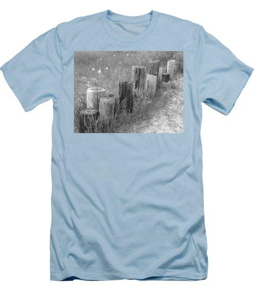 Posts In A Row Men's T-Shirt (Slim Fit) by Erick Schmidt