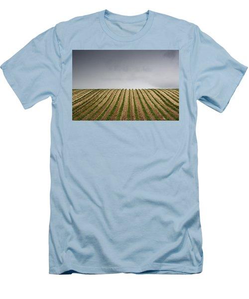Potato Field Men's T-Shirt (Slim Fit) by John Short