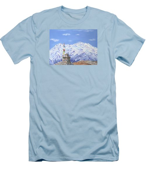Prayer Flag Men's T-Shirt (Athletic Fit)
