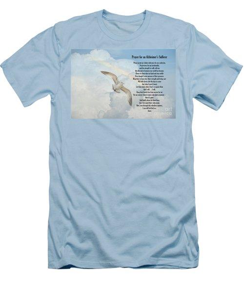Prayer For An Alzheimer's Sufferer Men's T-Shirt (Slim Fit) by Bonnie Barry