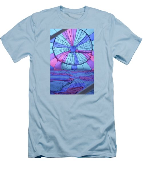 Preparing For Lift Off Men's T-Shirt (Slim Fit) by Linda Geiger