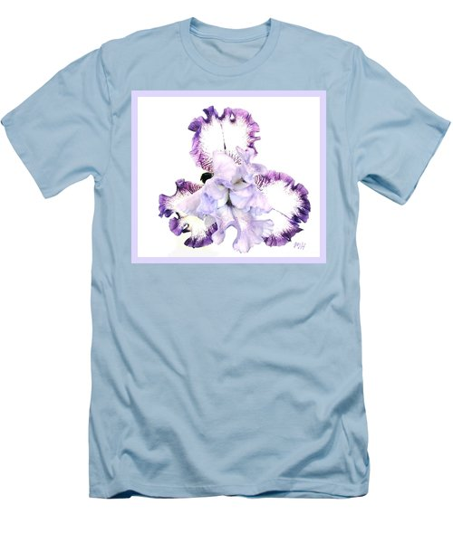 Pretty Baby Iris Men's T-Shirt (Slim Fit) by Marsha Heiken