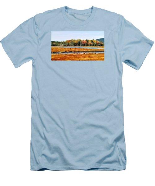 Pretty Marsh 2 Men's T-Shirt (Slim Fit) by Mike Breau