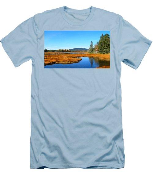 Pretty Marsh Men's T-Shirt (Athletic Fit)