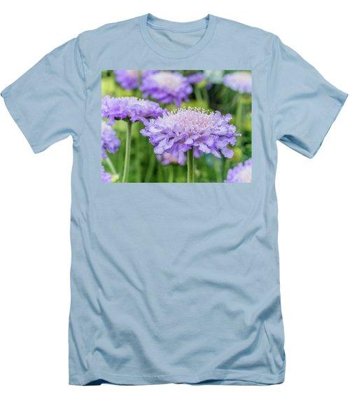 Pretty Purple Men's T-Shirt (Athletic Fit)