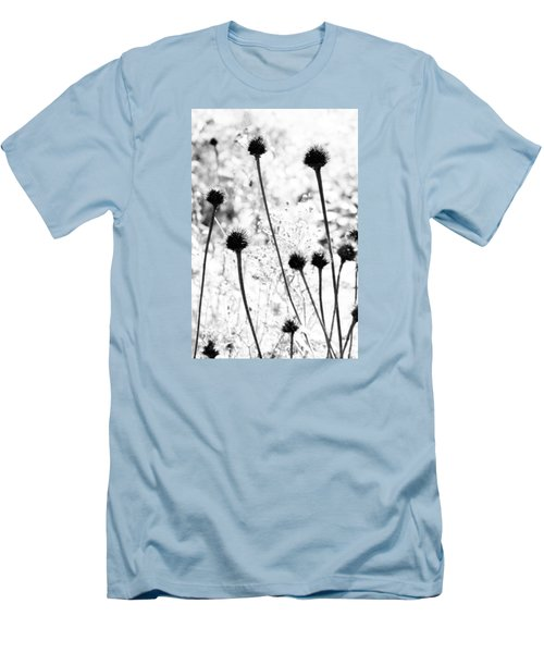 Prickly Buds Men's T-Shirt (Slim Fit) by Deborah  Crew-Johnson