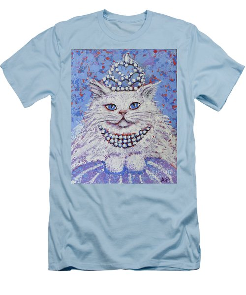 Princess Pussy Cat Men's T-Shirt (Athletic Fit)