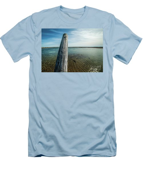 Provincetown Breakwater #2 Men's T-Shirt (Athletic Fit)