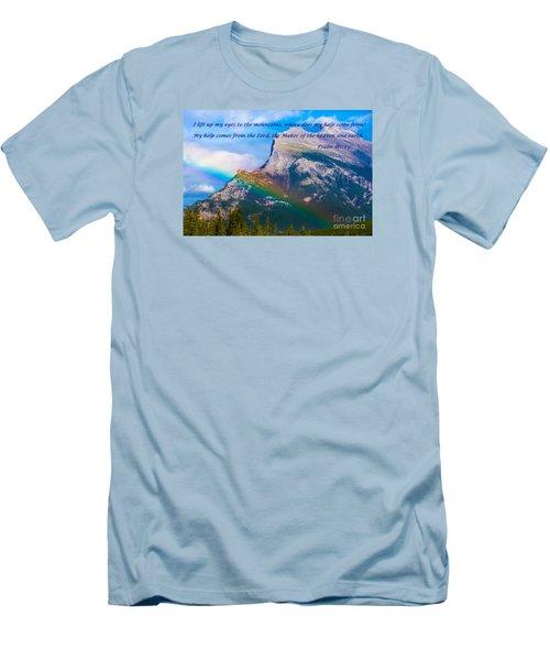 Psalm 121   1-2 Men's T-Shirt (Slim Fit) by John Roberts
